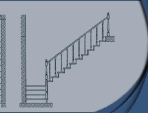Расчет лестницы с поворотом на 90° | на Zamer-doma.ru