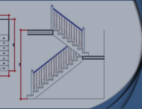 Расчет лестницы с поворотом на 180° | на Zamer-doma.ru