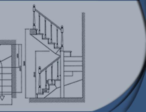 Расчет лестницы на 3 пролета с забежными ступенями | на Zamer-doma.ru
